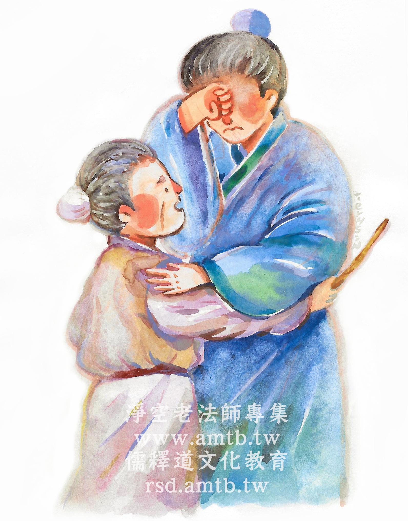 小故事大智慧-伯俞憐母